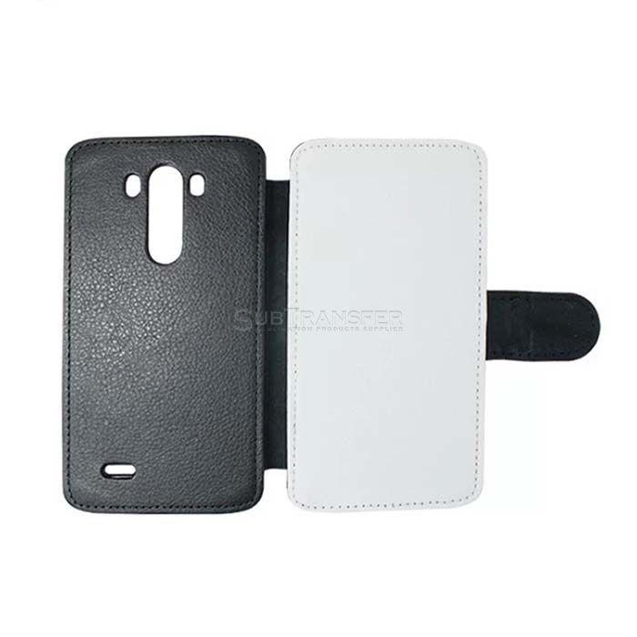 Sublimation Flip Wallet Phone Case For LG G3