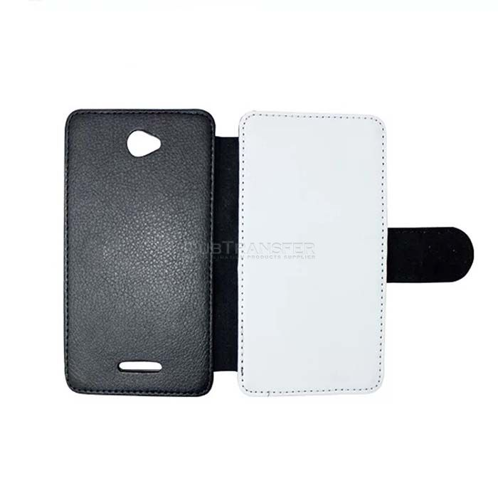 Sublimation Flip Wallet Phone Case For Sony E4