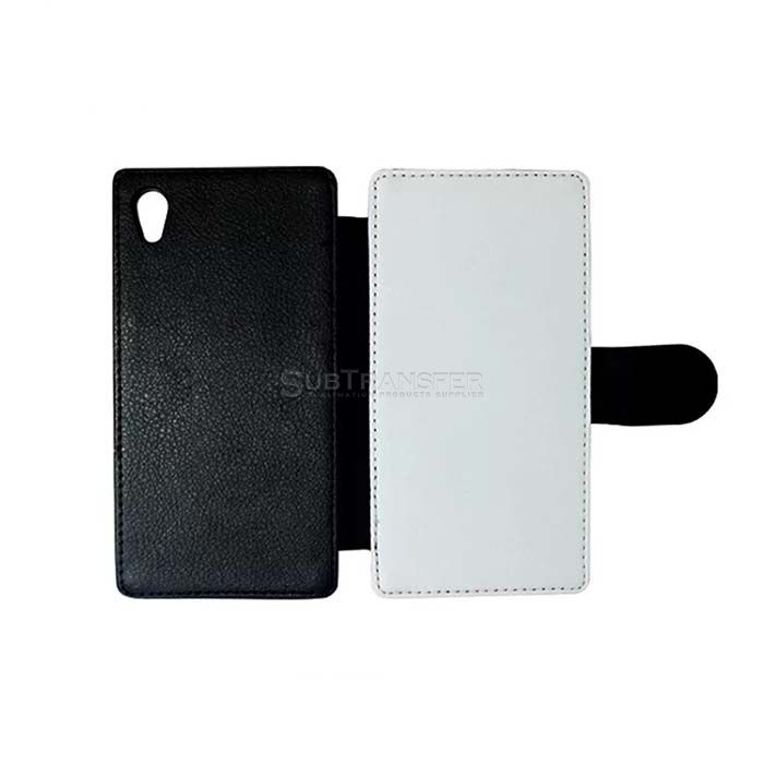 Sublimation Flip Wallet Phone Case For Sony M4