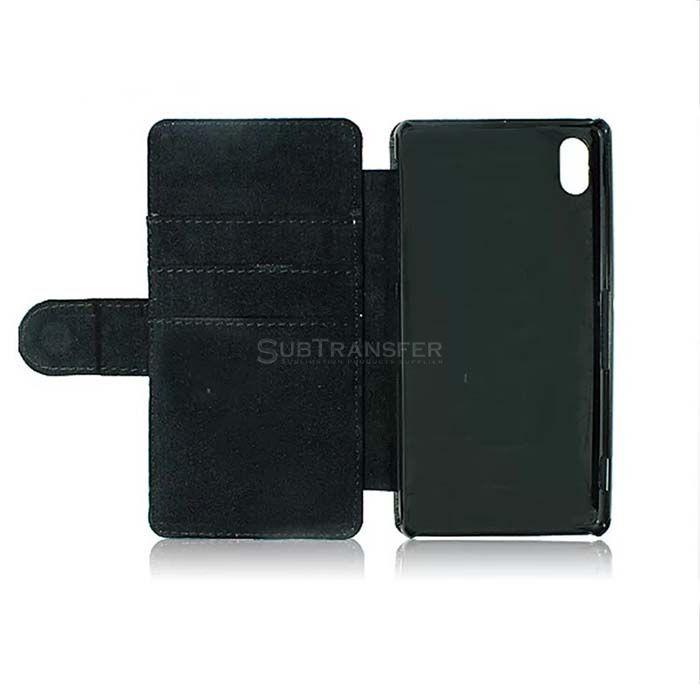 Sublimation Flip Wallet Mobile Case For Sony Z2