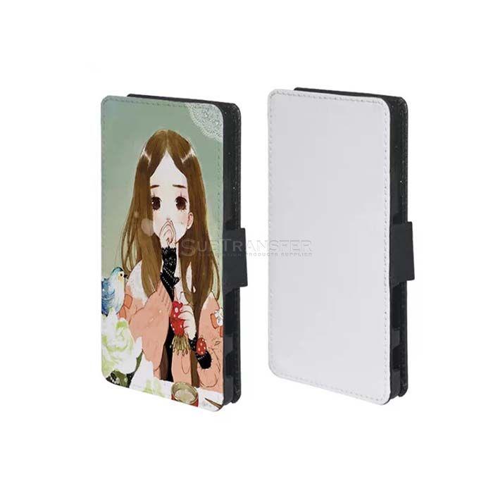 Sublimation Flip Wallet Mobile Case For Sony Z5