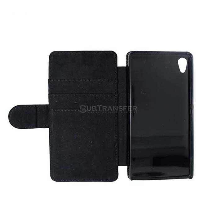 Sublimation Flip Wallet Mobile Case For Sony Z4
