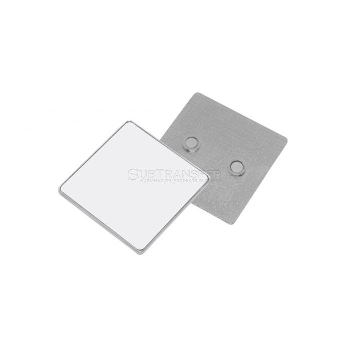 Square Shape Sublimation Metal Fridge Magnet