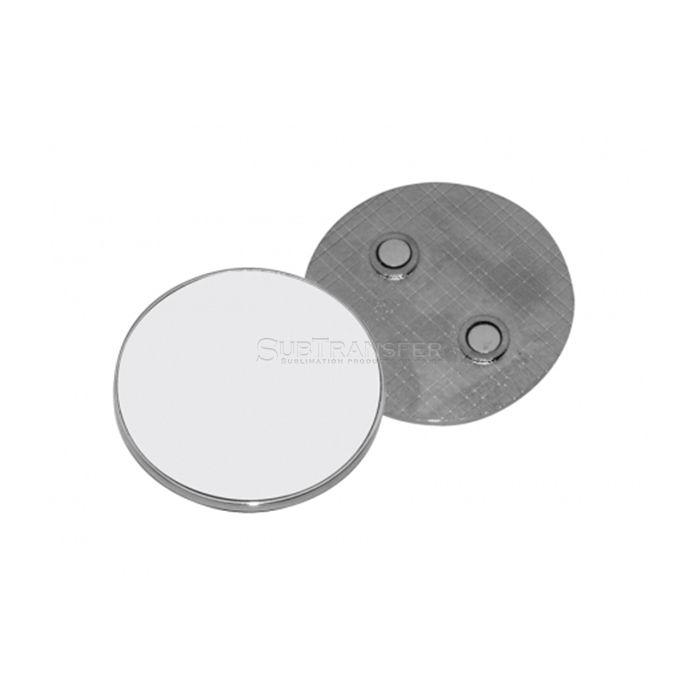 Round Shape Sublimation Metal Fridge Magnet