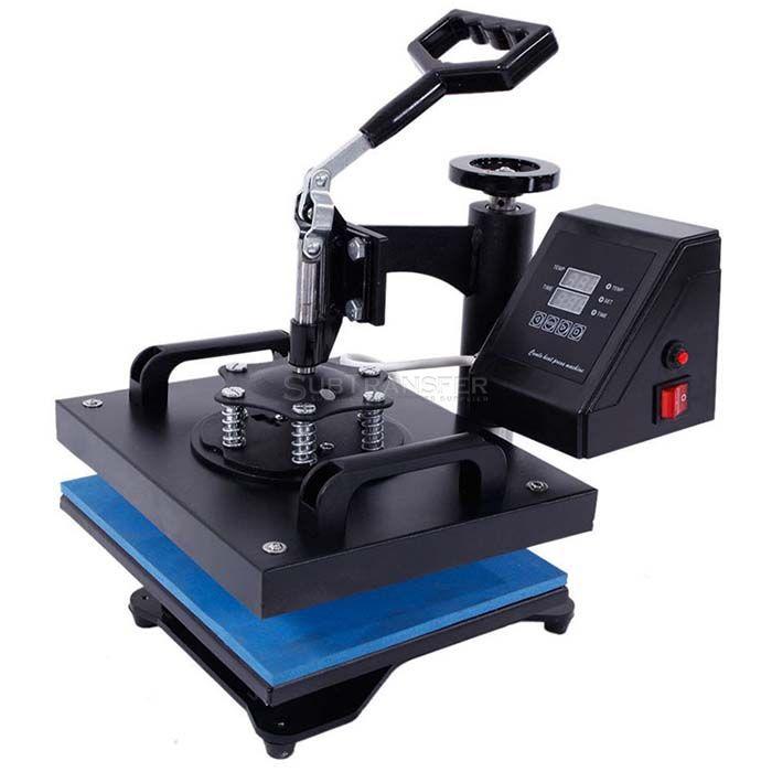 Flat Heat Transfer Press Machine 23*30cm Smaller Size
