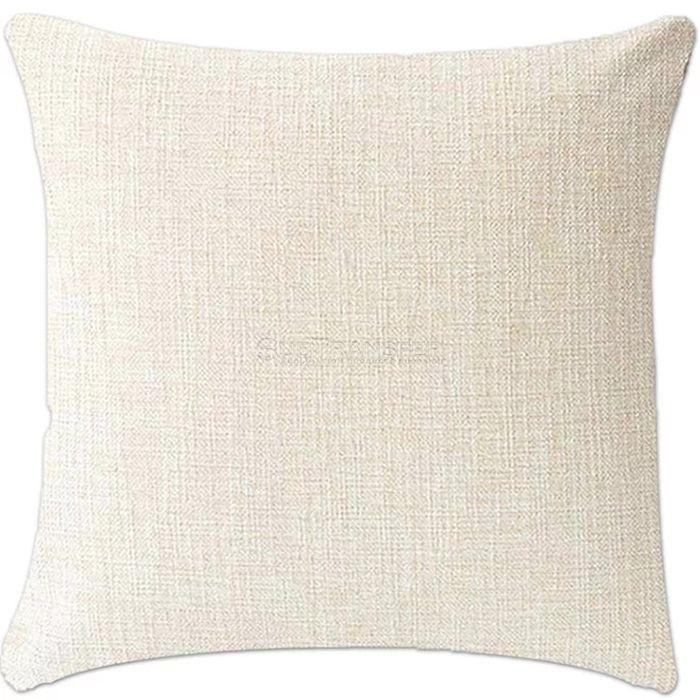 Sublimation Natural Cotton Linen Pillow Case