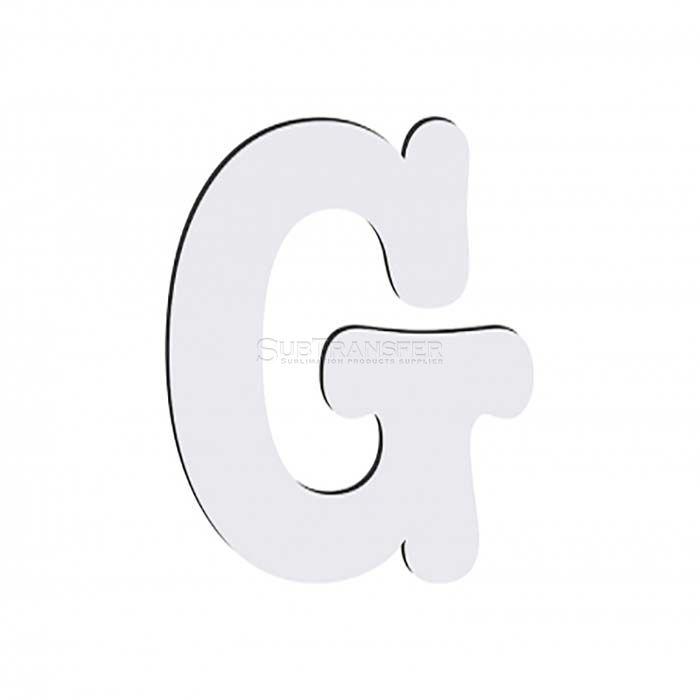 Sublimation Hardwood Letter G