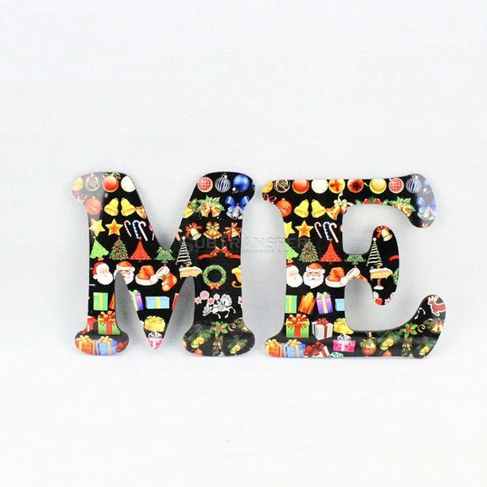 Sublimation Hardwood Letter M