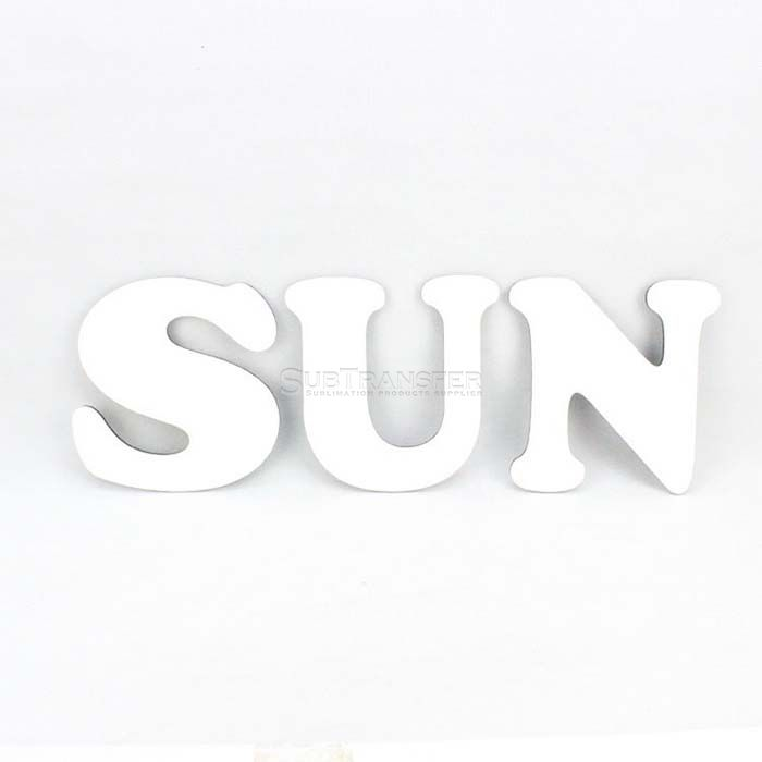 Sublimation Hardwood Letter N