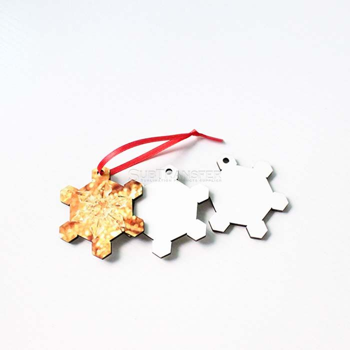 Sublimation Blank Christmas Pendant