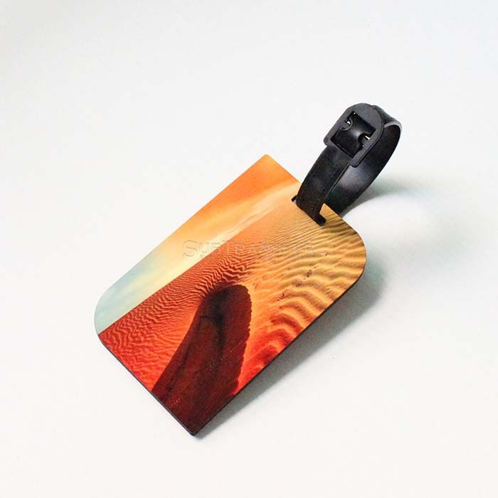 Sublimation MDF Wood Luggage Tag