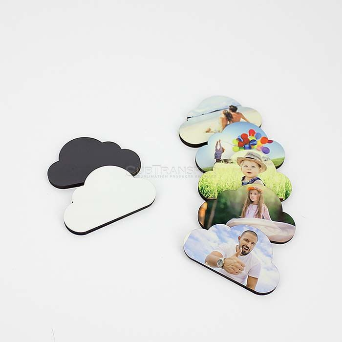 Sublimation MDF Wood Fridge Magnets