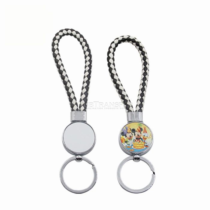 2019 New Arrival Sublimation Keychain With Rope