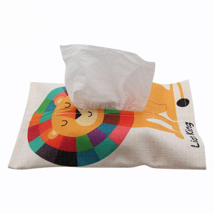 Sublimation Linen Tissue Box