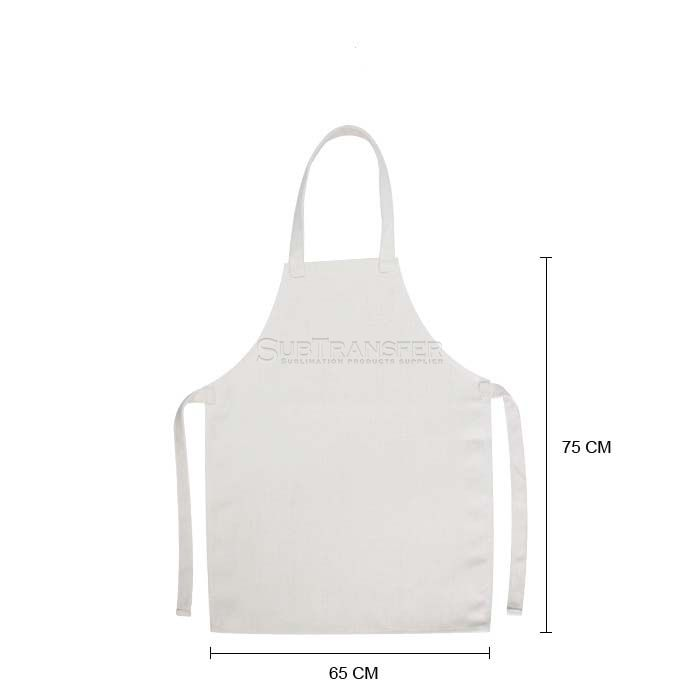 Sublimation Linen Apron For Adult