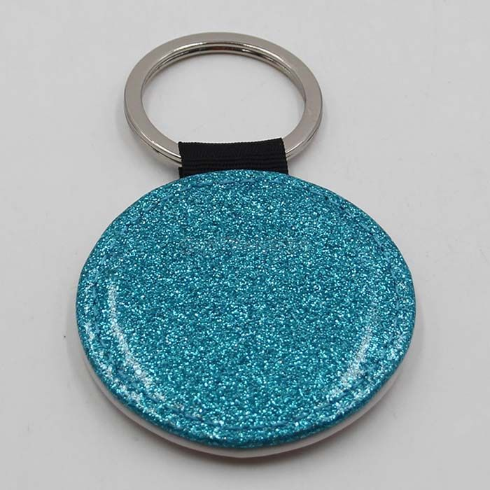 2019 New Sublimation Keyring with Sparkle
